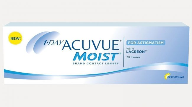1-DAY ACUVUE MOIST FOR ASTIGMATISM X30