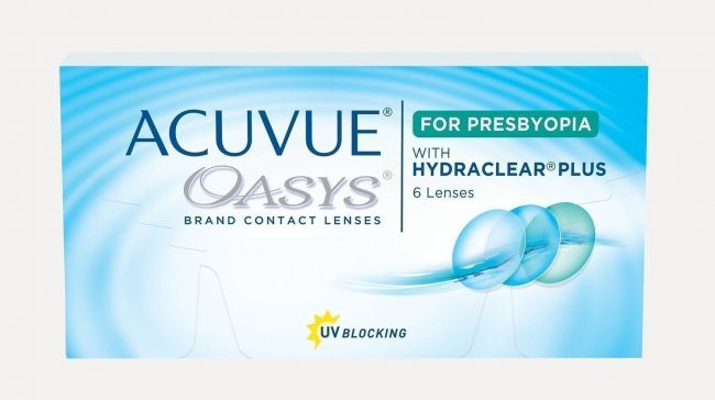 ACUVUE OASYS FOR  PRESBYOPIA  LOW X6