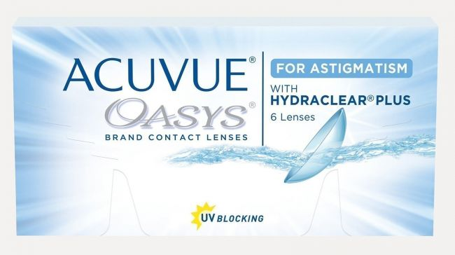 ACUVUE OASYS FOR ASTIGMATISM X6
