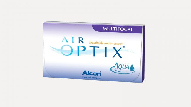 AIR OPTIX AQUA MULTIFOCAL HIGH X6