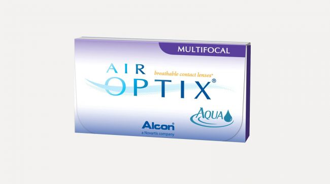 AIR OPTIX AQUA MULTIFOCAL LOW X6