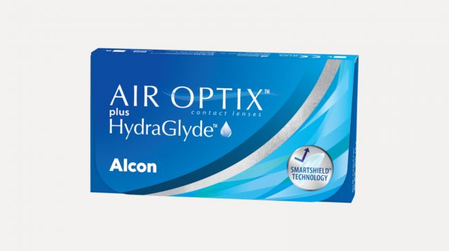 AIR OPTIX Plus hydraglyde (x3)