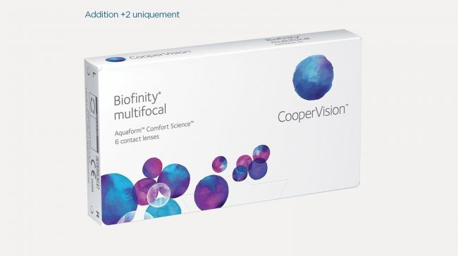 BIOFINITY MULTIFOCAL DISTANCE X6