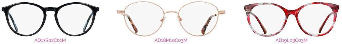 Collection ADRIANA des opticiens Atol